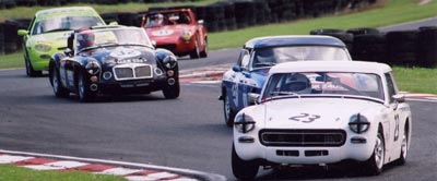 Steve McKie at Oulton Park
